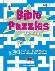 Bible Puzzles for Children PDF