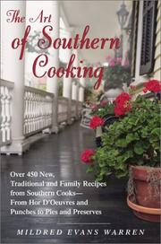 The art of southern cooking PDF