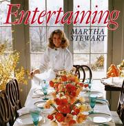 Cover of: Entertaining by Martha Stewart