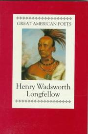 Cover of: Henry Wadsworth Longfellow by Henry Wadsworth Longfellow