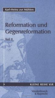 Reformation und Gegenreformation 2 PDF
