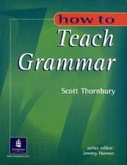How to Teach Grammar PDF