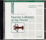 Marine Lobsters Of The World by L. B. Holthuis