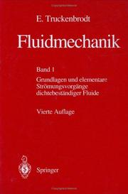 Fluidmechanik: Band 1 PDF