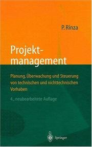 Projektmanagement by Peter Rinza