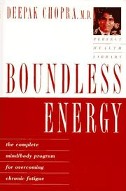 Boundless Energy by Deepak Chopra