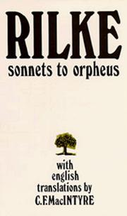 Sonnets to Orpheus Bilingual Edition PDF