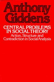 Central problems in social theory PDF