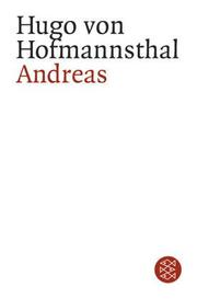 Andreas by Hugo von Hofmannsthal
