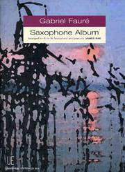 Gabriel Faure Saxophone Album PDF