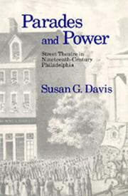 Parades and power by Susan G. Davis
