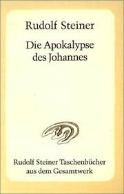 Die Apokalypse des Johannes by Rudolf Steiner