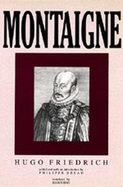 Montaigne by Friedrich, Hugo