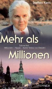 Mehr als Millionen. Sabine Ball. Million PDF