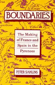 Boundaries by Peter Sahlins