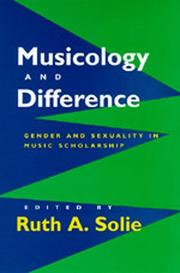 Musicology and Difference PDF
