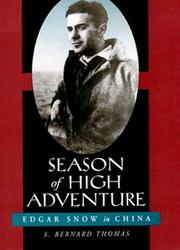 Season of high adventure by S. Bernard Thomas
