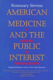 American medicine and the public interest PDF
