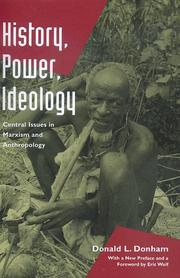 History, power, ideology PDF