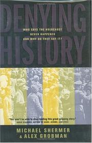 Cover of: Denying history | Michael Shermer