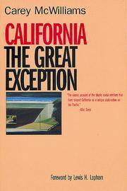 California, the great exception PDF