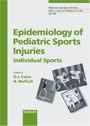 Epidemiology of Pediatric Sports Injuries PDF