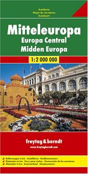 Central Europe Road Map (Country Road & Touring) PDF