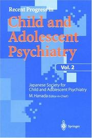 Recent Progress in Child and Adolescent Psychiatry, Vol.2 (Recent Progress in Child and Adolescent Psychiatry) PDF