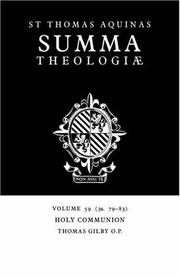 Cover of: Summa Theologiae by Thomas Aquinas