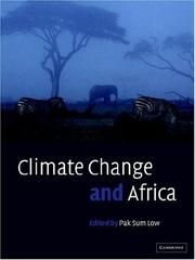 Climate Change and Africa PDF