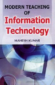 Modern Teaching of Information Technology PDF