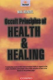 Occult Principles of Health and Healing PDF