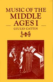 Music of the Middle Ages PDF