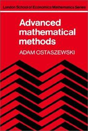Advanced mathematical methods PDF
