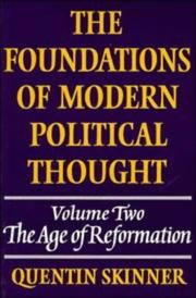 The foundations of modern political thought PDF