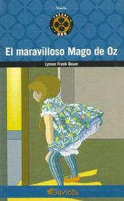 Cover of: El Maravilloso Mago de Oz by L. Frank Baum