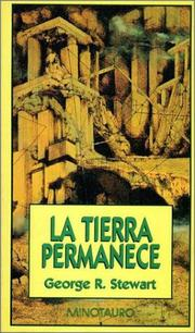 Cover of: Tierra Permanece, La by George Rippey Stewart
