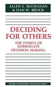 Deciding for others PDF