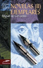 Cover of: Novelas ejemplares by Miguel de Unamuno