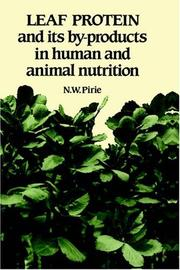 Leaf protein and its by-products in human and animal nutrition PDF