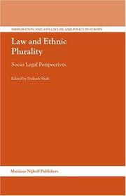 Law and Ethnic Plurality (Immigration and Asylum Law and Policy in Europe) PDF