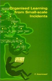 Organised Learning from Small-Scale Incidents PDF