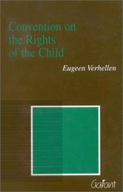 Convention on the Rights of the Child by Eugeen Verhellen