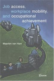 Job access, workplace mobility and occupational achievement PDF