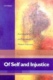 Of self and injustice by C. W. Watson