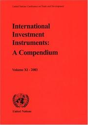 International Investment Instruments by United Nations Conference