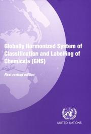 Globally Harmonized System of Classification And Labelling of Chemicals (Ghs) PDF