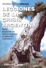 Lecciones de la Crisis Argentina PDF