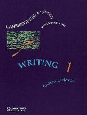 Writing 1 Students book