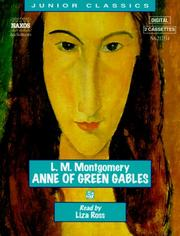 Cover of: Anne of Green Gables (Junior Classics) by L. M. Montgomery